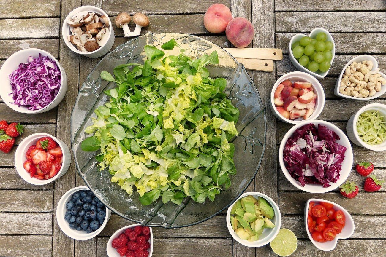 Superfood Salat Obst