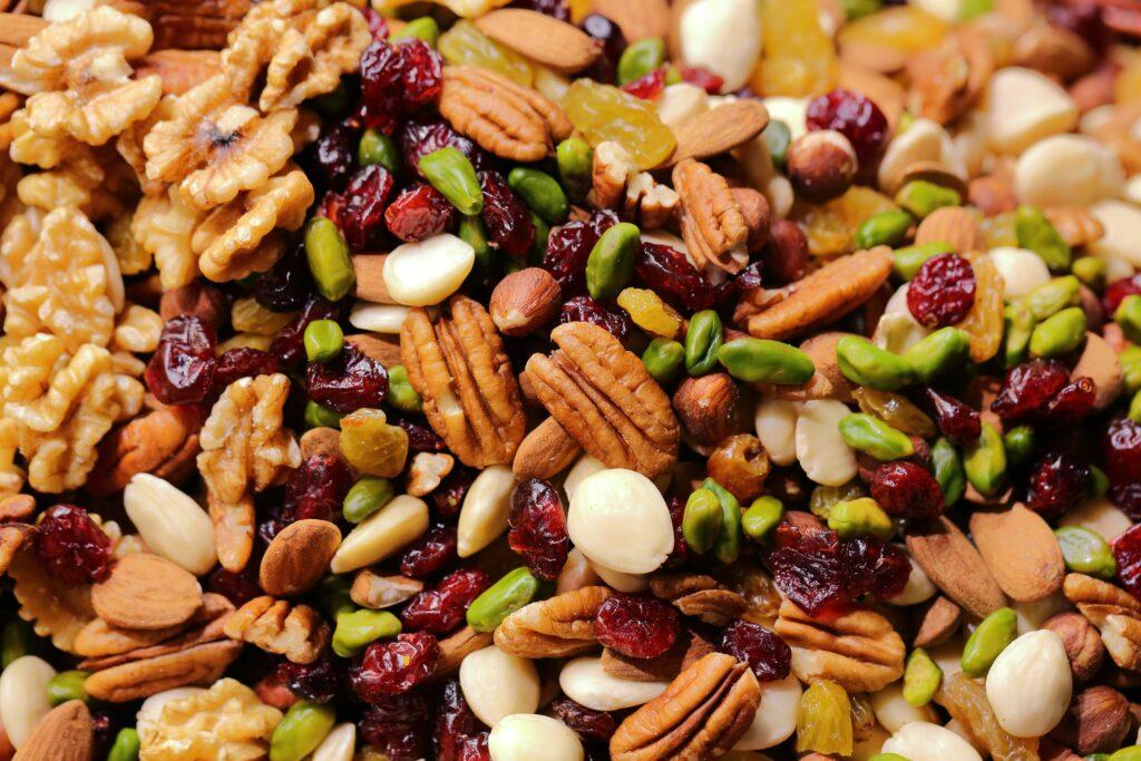 Auch die verschiedenen Nüsse sollten auf keiner Superfood-Liste fehlen