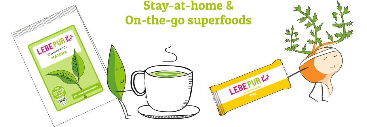Stay at home & on-the-go superfoods